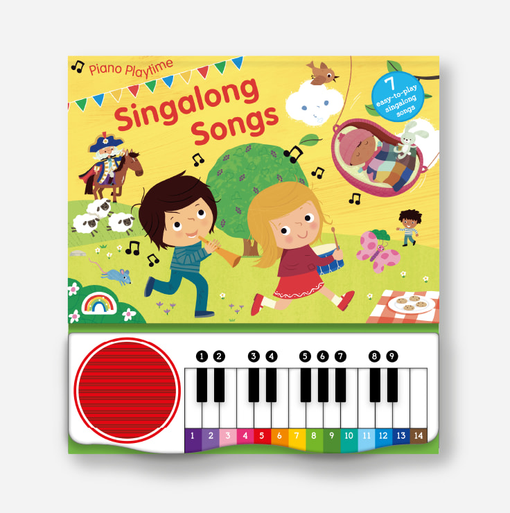 Piano Playtime - Singalong Songs cover and piano
