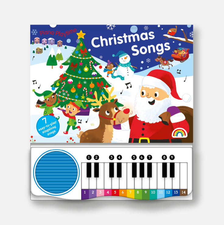 Piano Playtime - Christmas Songs cover and piano
