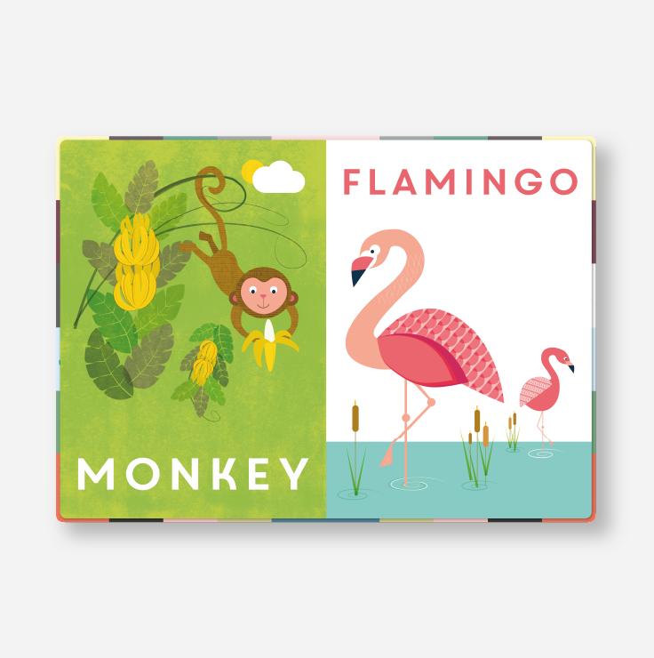 Keepsake book - Animals spread