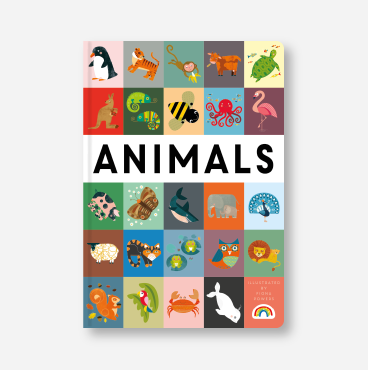 Keepsake book - Animals cover