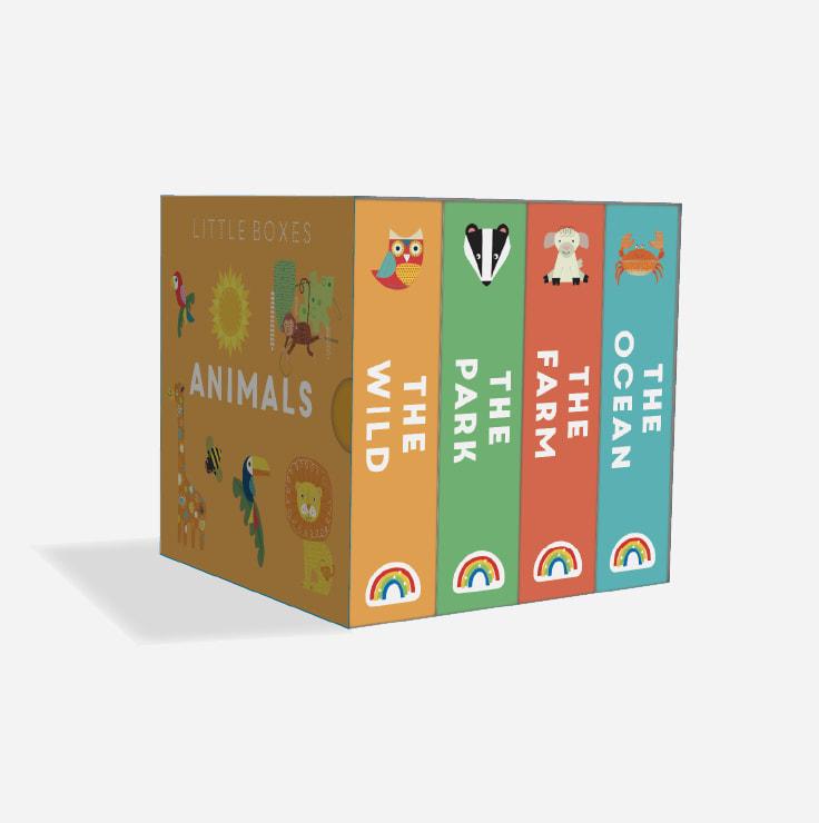 Little Boxes - ANIMALS slipcase
