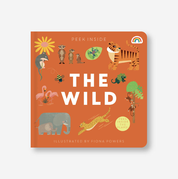 Peek Inside - The Wild cover