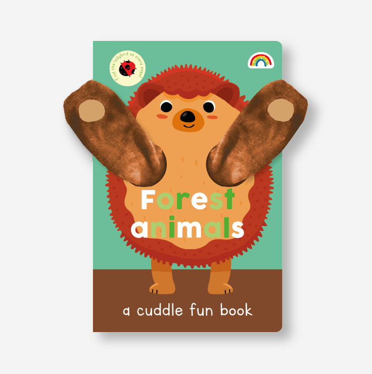 Cuddle Fun - Forest Animals cover with plush puppet arms
