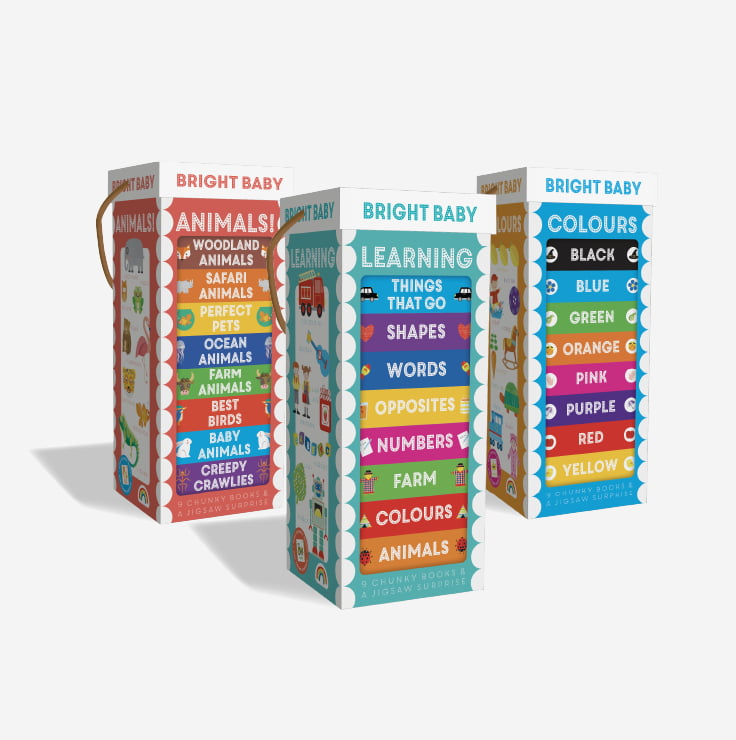Bright Baby Book Towers