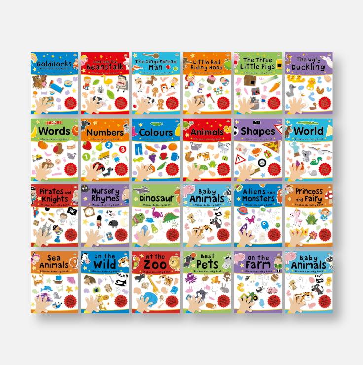 Sticker Activity Books